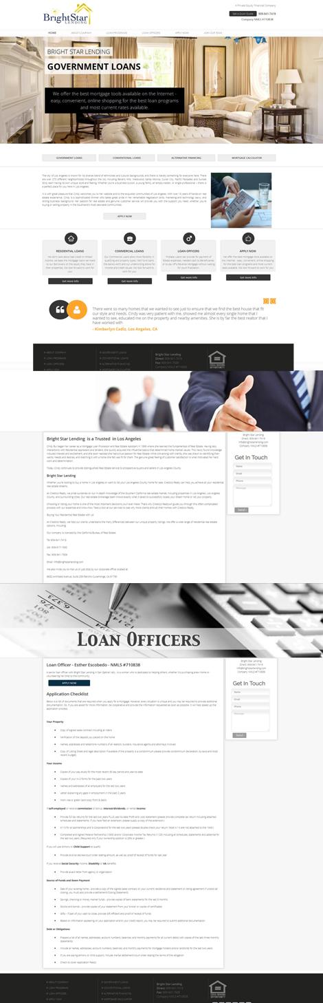 Real Estate & Mortgage Website Design
