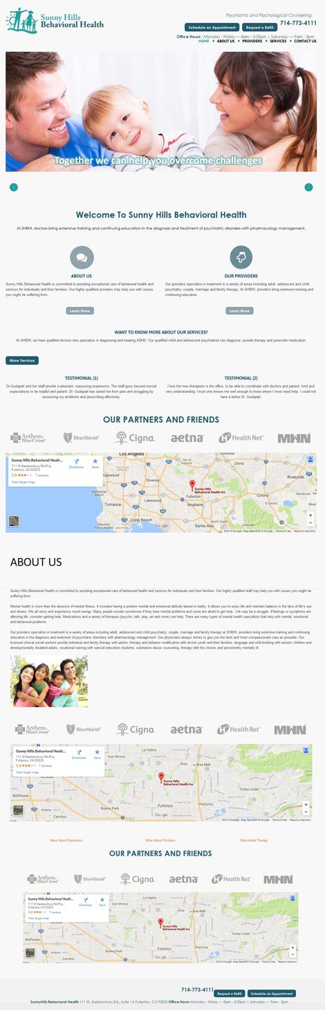 Psychological Counseling Website Design