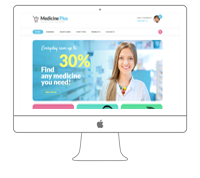 Medical Pharmacy Website Design