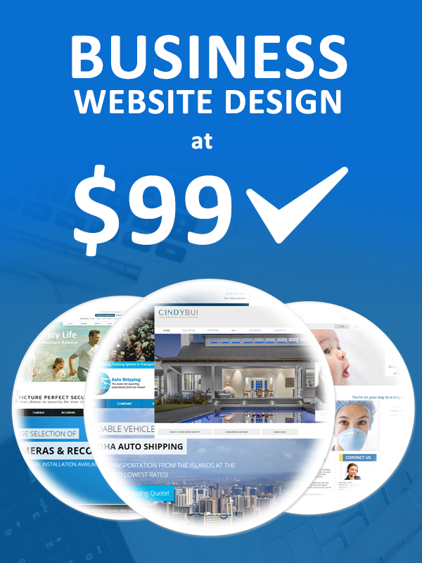 Business website design for your startup business at low cost