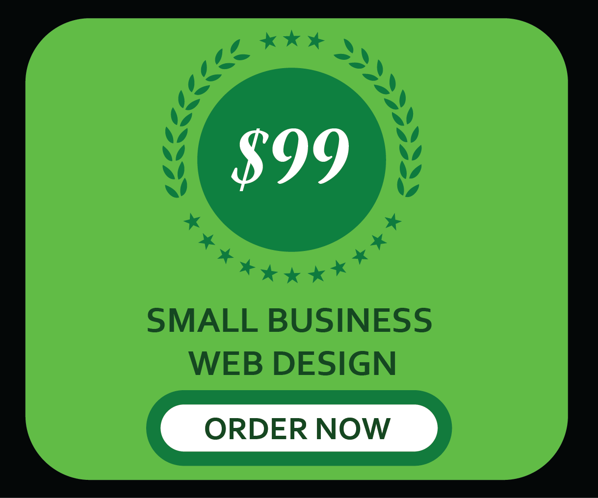 cheap custom website design service at 99 only