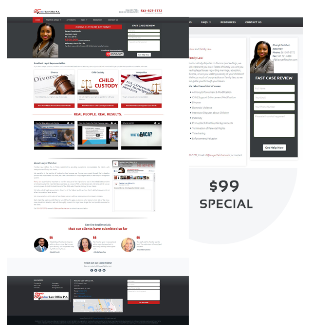 custom website design webtady