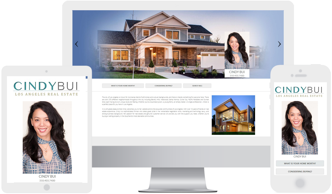 affordable website design for real estate service