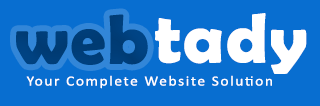 Webtady - Custom Website Design - Footer Logo