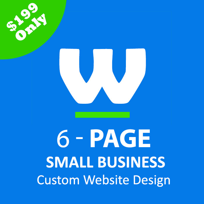 6 Page Small Business Web Design