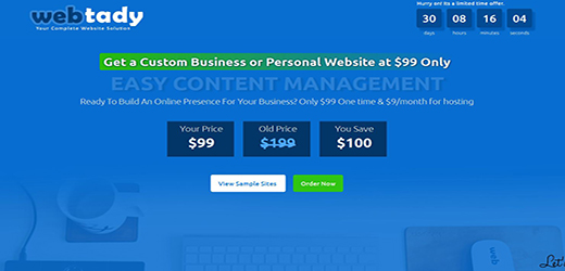 webtay cheap page design
