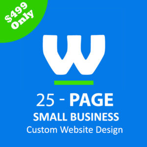 Webtady 25 Page Small Business Website Design