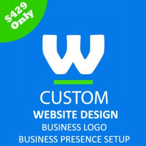 courier website design webtady