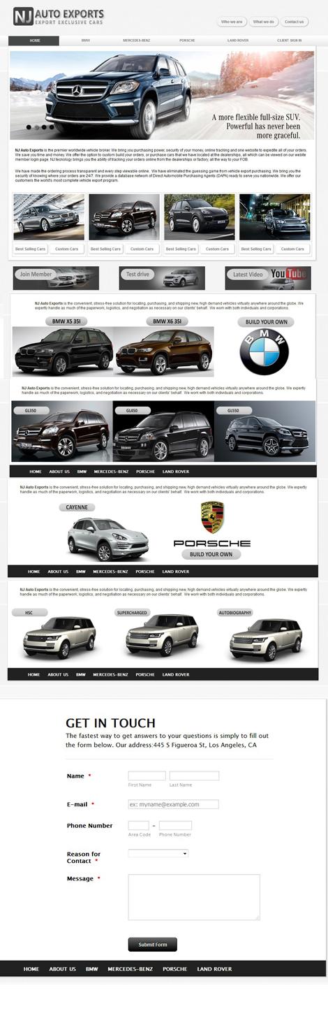 NJ Auto Exports