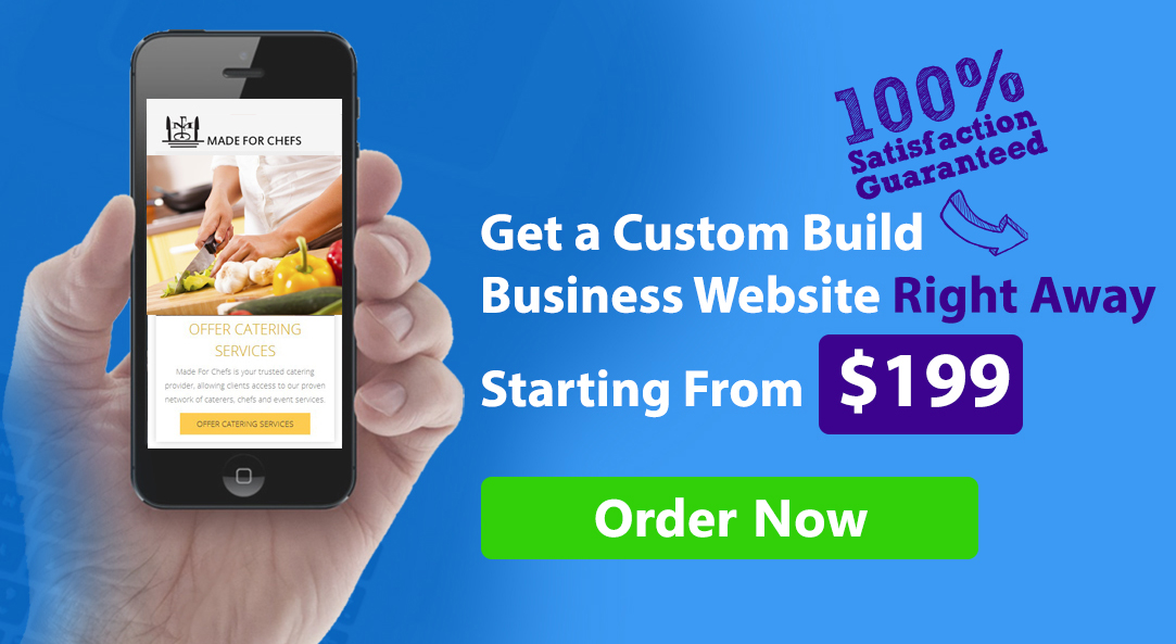webtady custom website design advertisement